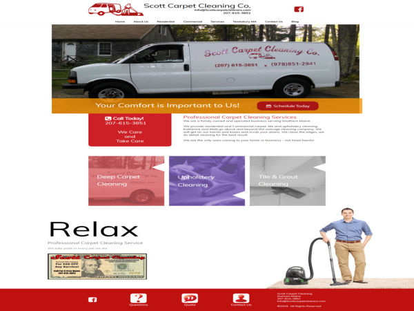 Scott Carpet Cleaning Maine