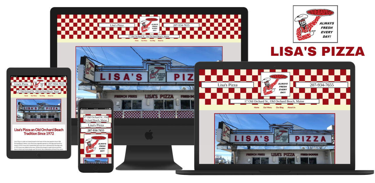 Lisa's Pizza Old Orchard Beach Maine