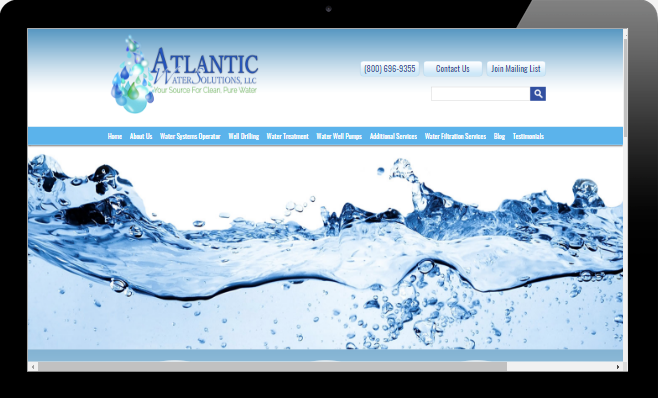 Atlantic Water Solutions Serving Southern Maine