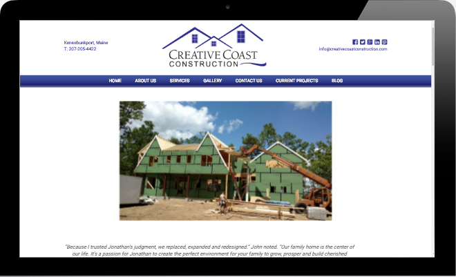 Creative Coast Construction Kennebunkport Maine