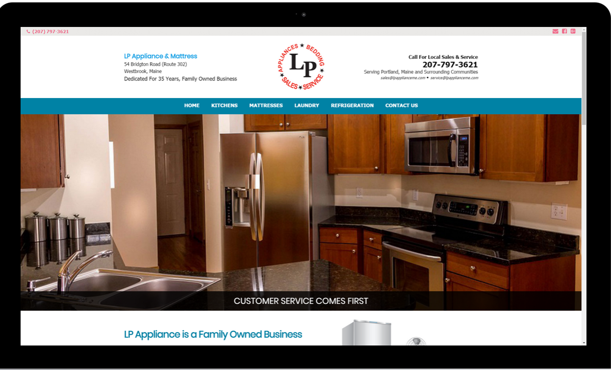 LP Appliance Serving Southern Maine