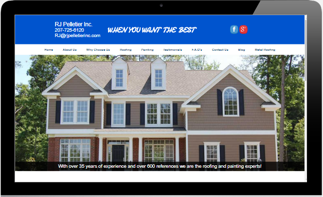 RJ Pelletier Roofing and Painting Topsham