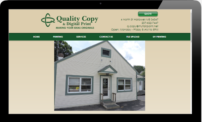Quality Copy Digital Print Hallowell Maine