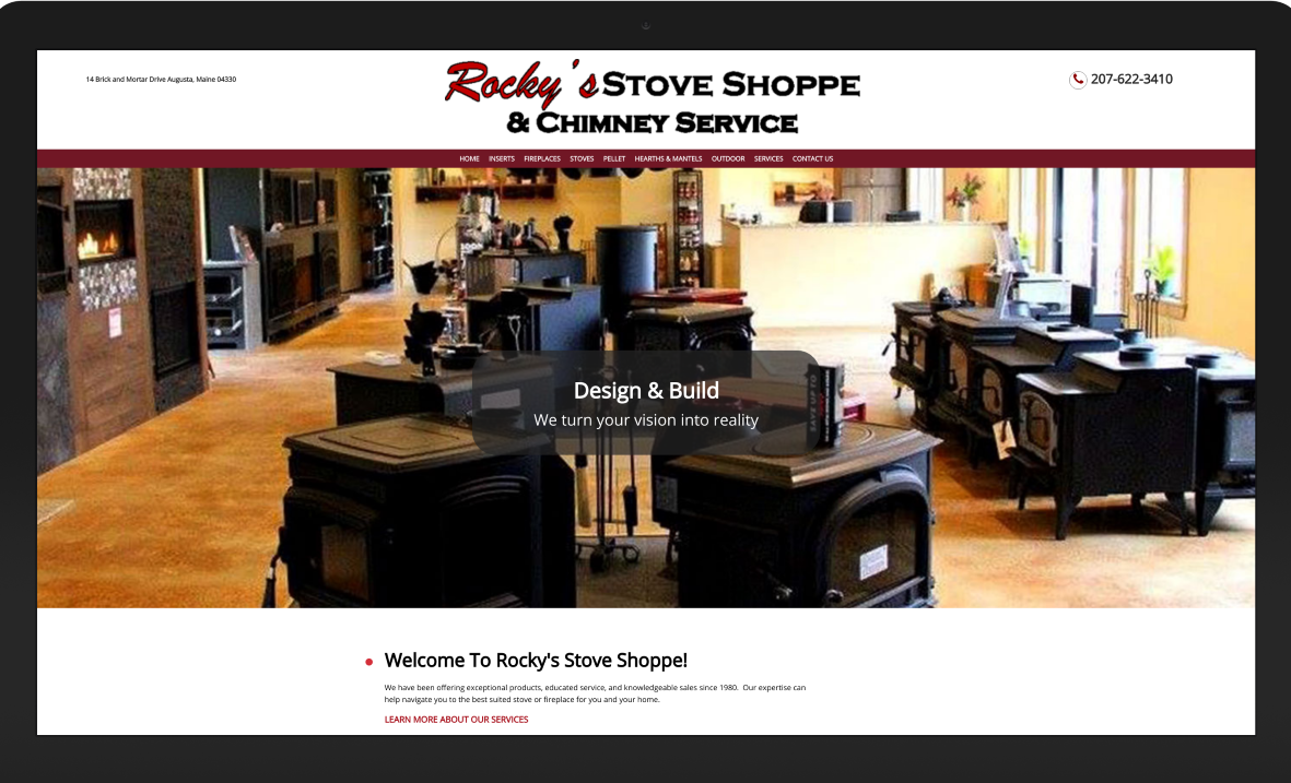 Rocky's Stove Shoppe Augusta Maine
