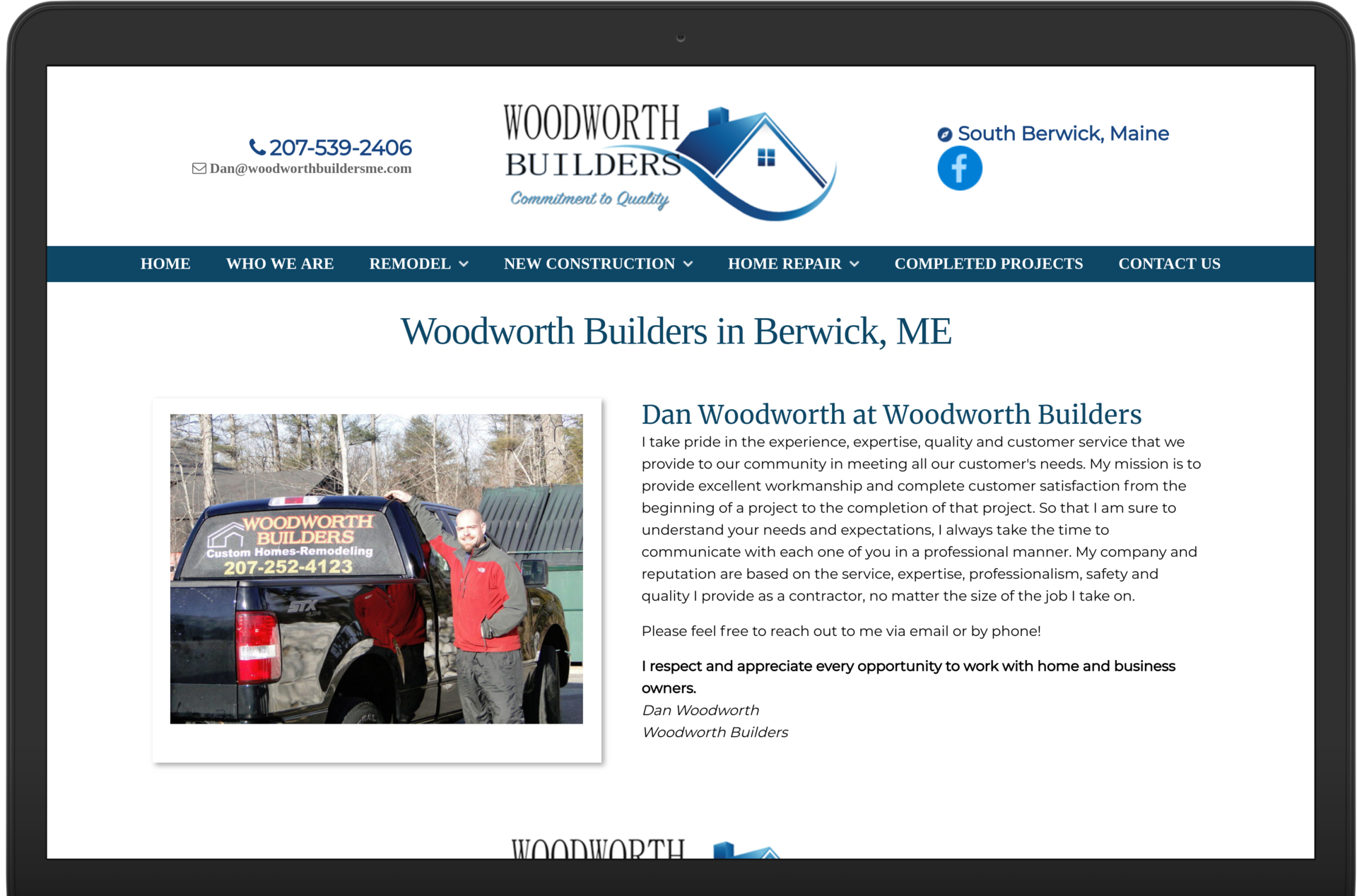 Woodworth Builders Berwick Maine