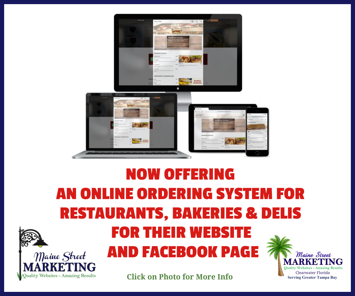 Online Ordering System for Restaurants.